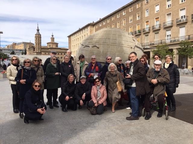 Ystäväyhdistyksen jäsenmatka Zaragozaan