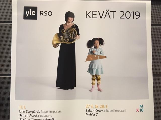 RSO:n kevään ohjelmiston esittely 16.1.2019 klo 17.30