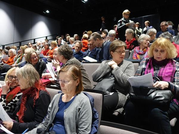 Eija Kujala jatkaa RSOn ystävien puheenjohtajana ja ystäväkoulutoiminta kukoistaa