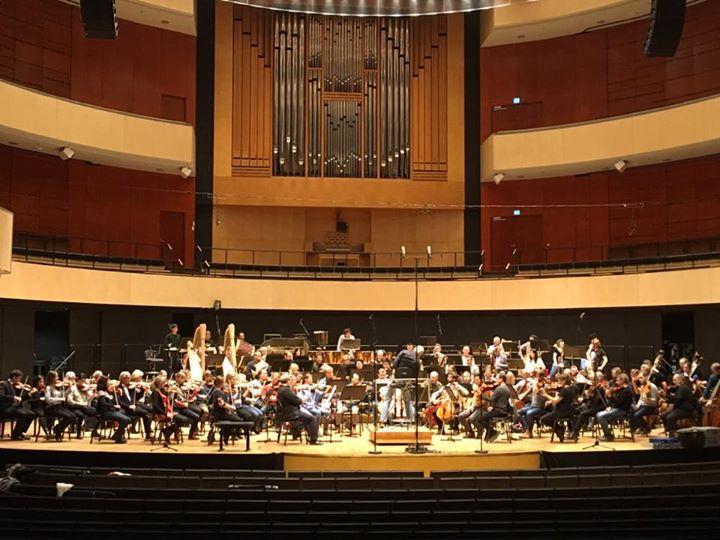Oltiin Lahes konsertis! RSO:n kotimaankiertue päättyi Lahden kauniiseen Sibelius…