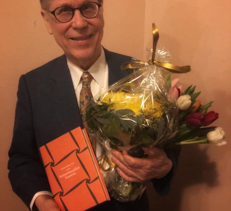 Myös RSOn ystävät onnittelevat lämpimästi Seppo Kimasta Lauri Jäntin tunnustuspa…