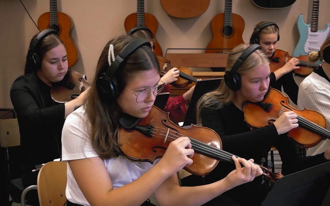 Sibelius-lukion MU1 -kurssin Nuoruustango – Maratonkonsertti 2020