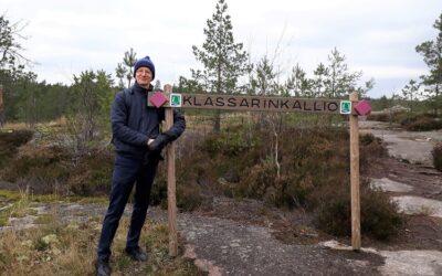 Klassista netissä, oma blogi ja luontoretket  – Lauri Jaakkolan pelastusrenkaat