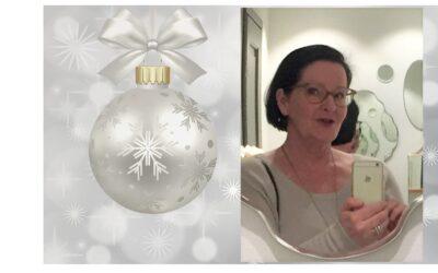 Joulutervehdys ja kiitokset yhdistyksen taloudenhoitajalta
