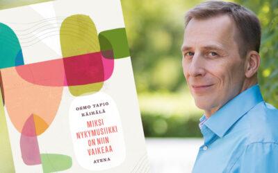 Jäsenalennus Osmo Tapio Räihälän kirjasta Miksi nykymusiikki on niin vaikeaa
